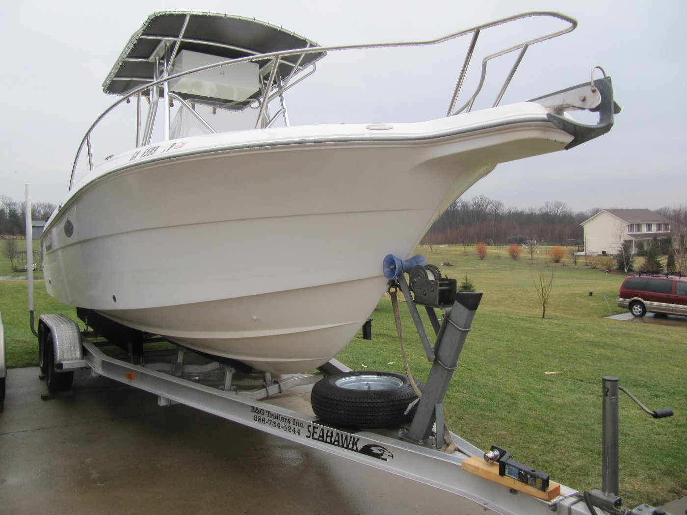 FOR SALE - Wellcraft 230 Fisherman Center Console Fishing Boat