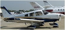 Our Piper Archer Aircraft